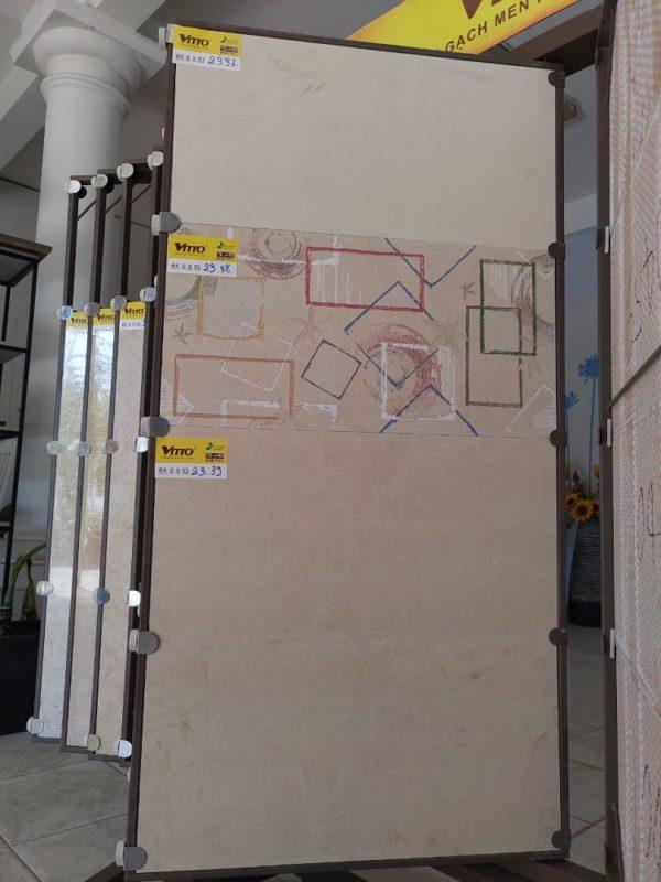 Gạch Ốp Tường 30×60 Vàng Mờ Vitto 2037 2038 2039