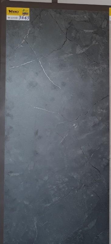 Gạch Lát Nền 60×120 Màu Đen Nhám Vitto 3643