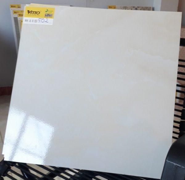 Gạch Lát Nền 50×50 Vitto 0502 Màu Vàng Kem Nhạt