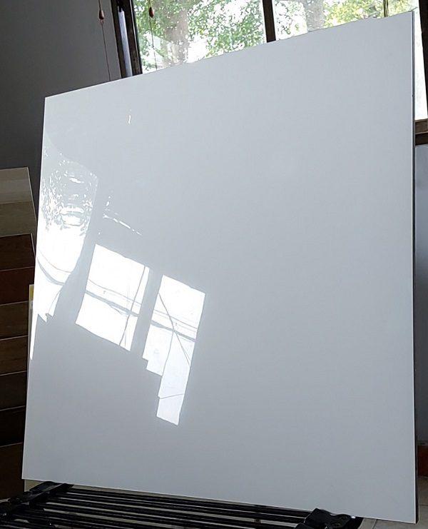 Gạch Lát Nền 60×60 Màu Trắng Trơn – Bóng kính Toàn Phần Vitto 777