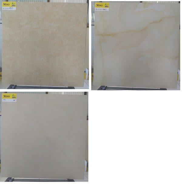 Gạch Lát Nền 60×60 Màu Vàng Nhám – Vitto 0660 0663 0664