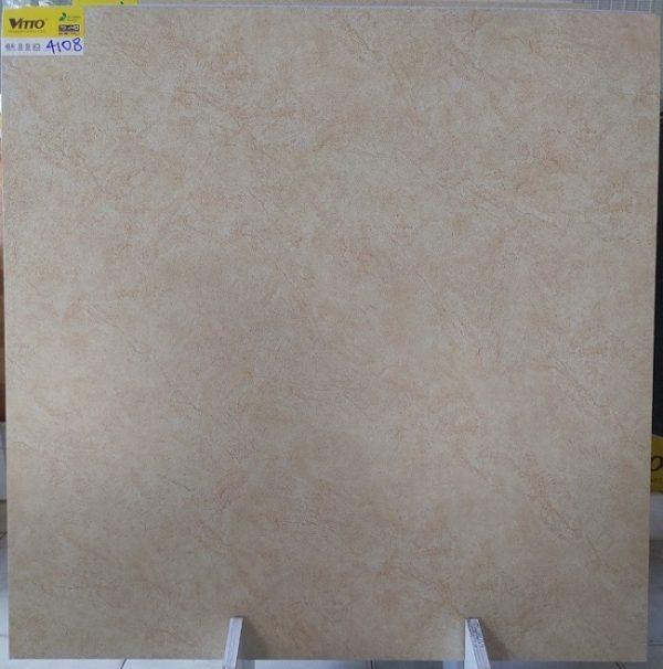 Gạch Lát Nền 80×80 Vitto 4108 Màu Vàng Gân Đá Men Mờ