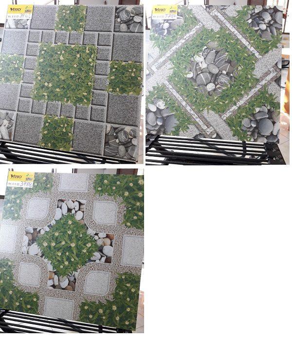 Gạch Lát Sân Vườn 50×50 Cỏ Nhám Vitto 3782 3786 3788