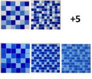 Gạch MosaicHồ Bơi Màu Xanh
