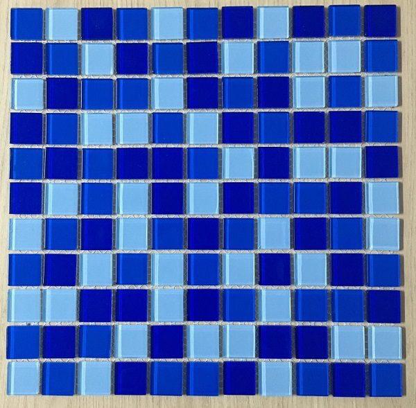 gach mosaic mau xanh duong xanh nhat