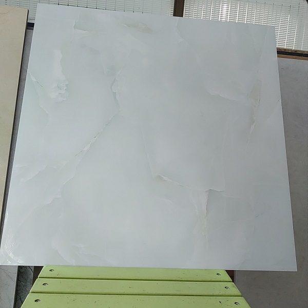 Gạch Lát Nền 60×60 Màu Xanh Ngọc Vân Đá Siêu Bóng Vitto 3106