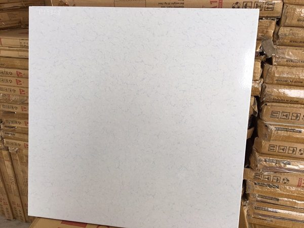 Gạch Lát Nền 50×50 Màu Trắng Vân Gợn Nhạt Vân Prime 7728