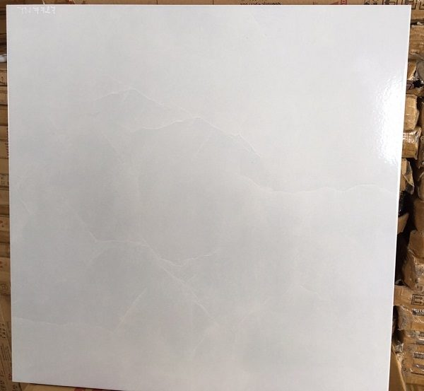 Gạch Lát Nền 50×50 Màu Trắng Giá Rẻ Prime 7727