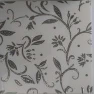 Gạch Nhủ Trắng 30×30 Ốp Tường Hoa Văn Màu Xám
