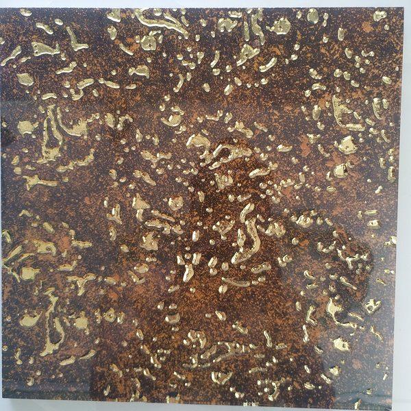Gạch Ốp Tường 30×30 Màu Vàng Nâu Nhủ Vàng Cao Cấp