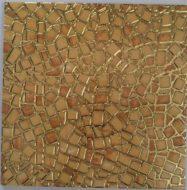 Gạch Nhủ Vàng 30×30 Ốp Tường Vân Đá Rạn Màu Vàng
