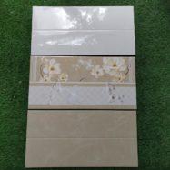 Gạch Ốp Tường 30×60 Giá Rẻ Màu Trắng Kem- Vàng Á Mỹ 163 164 165