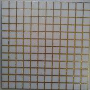 Gạch Trang Trí Ốp Tường 30×30 Màu Trắng Nhủ Vàng Caro