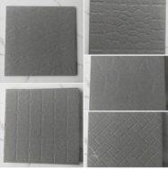 Gạch Lát Sàn 40×40 Màu Xám Đen Bề Mặt Nhám