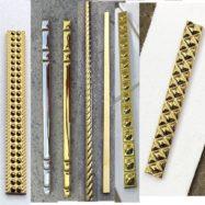 Gạch Đường Chỉ Nhủ Vàng – Nhủ Bạc Ốp Tường Cao Cấp