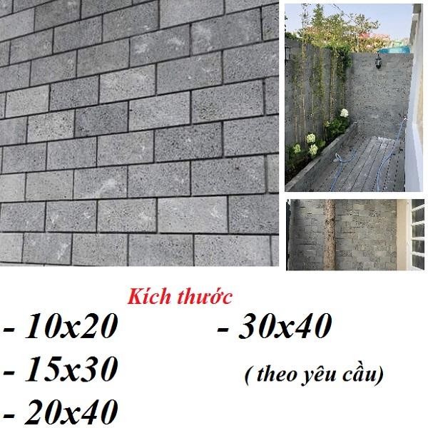 6 Mẫu Đá TỔ Ong Ốp Tường Trang Trí Màu Xám Đen Giá Rẻ Tp.HCM