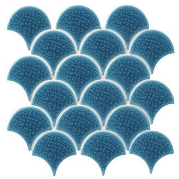 gach mosaic gom ran mau xanh