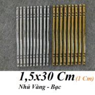 Gạch Đũa Chỉ Vàng – Đũa Bạc 1×30 Cm Giá Rẻ