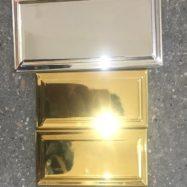 Gạch Thẻ Ốp Tường Trang Trí Nhủ Bạc – Nhủ Vàng Cao Cấp