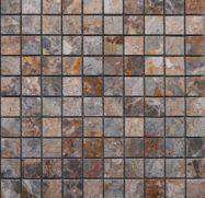 Mosaic Đá Cẩm Thạch Tư Nhiên Màu Vàng Nâu Ốp Tường