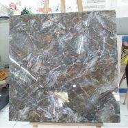 Gạch 80×80 Vitto 4007 – Màu Nâu Vân Đá Bóng Kính