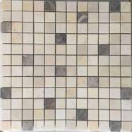 Đá Mosaic Tự Nhiên Màu Vàng Kem Cẩm Thạch Nhập Khẩu