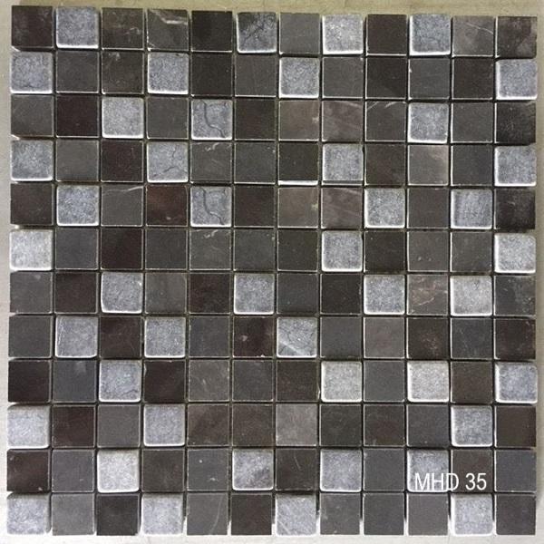 gach mosaic da tu nhien mau xam den