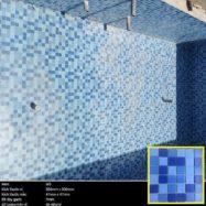 Gạch Đá Mosaic Hồ Bơi Lát Nền Cao Cấp Màu Xanh Biển