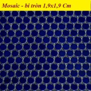 Gạch Lát Nền Mosaic Bi Tròn Màu Xanh – Gạch Đá Phòng Vệ Sinh