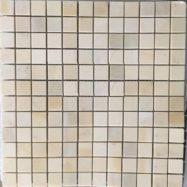 Đá Mosaic Tự Nhiên Màu Vàng Nhạt Trang Trí Cao Cấp