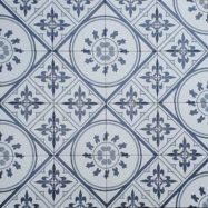 Gạch Bông Men 20×20 Cm Trang Trí Màu Xanh vân Cổ Điển