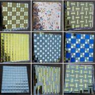 9 Mẫu Gạch Mosaic Kính Thủy Tinh Ốp Tường Cao Cấp