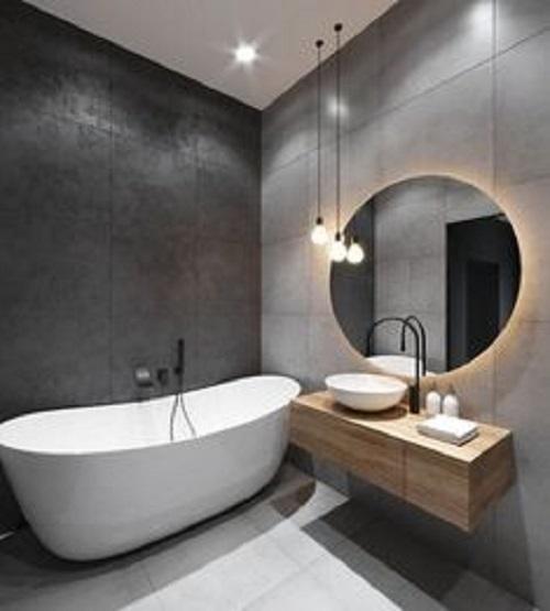 Lựa chọn gạch thẻ hình vuông cho phòng vệ sinh