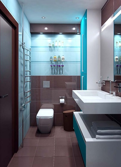 Kết hợp với nội thất đem đến không gian hiện đại