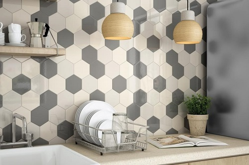 Gạch lục giác màu trắng – Xu hướng mới trong trang trí nội thất