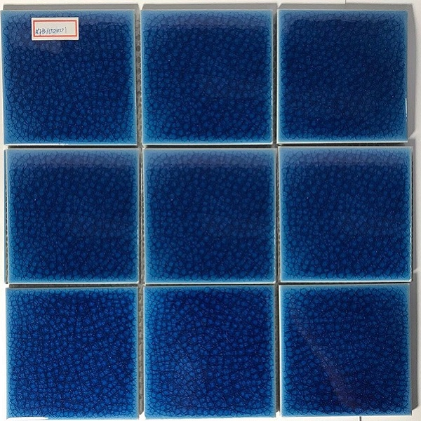 gach mosaci mau xanh men ran cao cap 10x10 cm