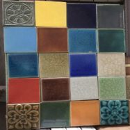 Gạch Thẻ Gốm Men Rạn 10×10 – Gốm Bát Tràng Cao Cấp