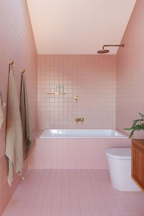 Bất kỳ thiên đường màu hồng nào chắc chắn đều sẽ làm bạn cảm thấy thư giãn