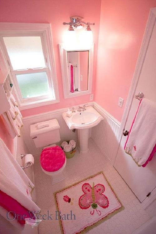 Cho một không gian ngập tràn sắc hồng