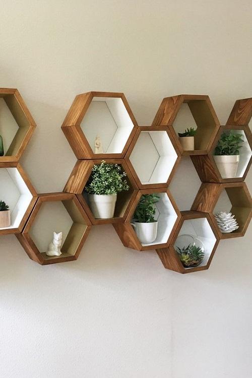 Khi được kết hợp với gỗ trang trí
