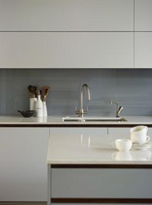 Khi được kết hợp với nội thất tạo ra một không gian sang trọng cho phòng bếp