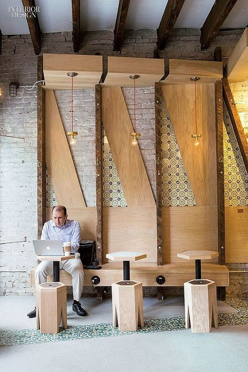 Gạch bông vân cổ điển cho quán cà phê vẻ đẹp ấm áp
