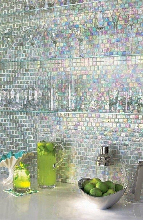 Gạch mosaic cho bếp sang trọng