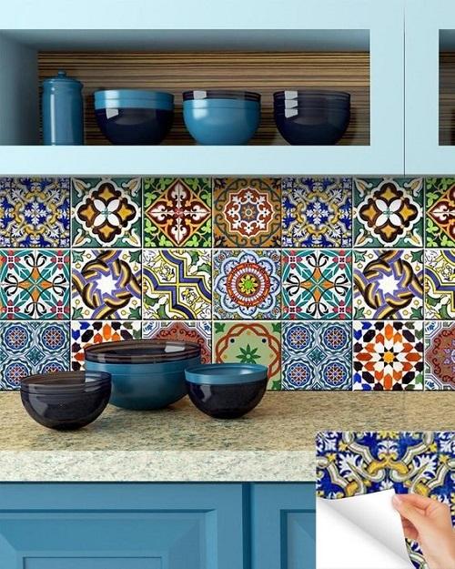 Gạch bông vân cổ điển cho phòng bếp vẻ đẹp ấn tượng