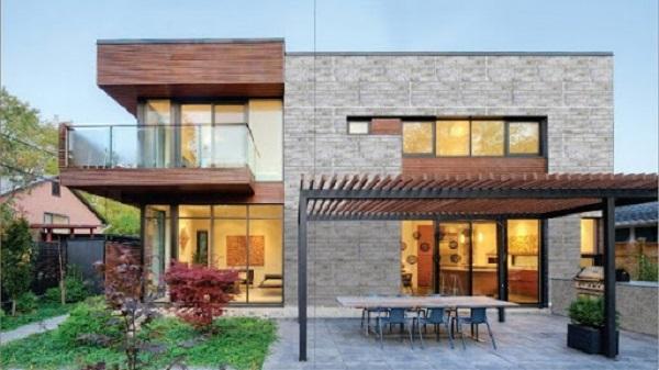 Gạch ốp tường ngoài trời cho ngôi nhà thêm vẻ tôn quý và sang trọng