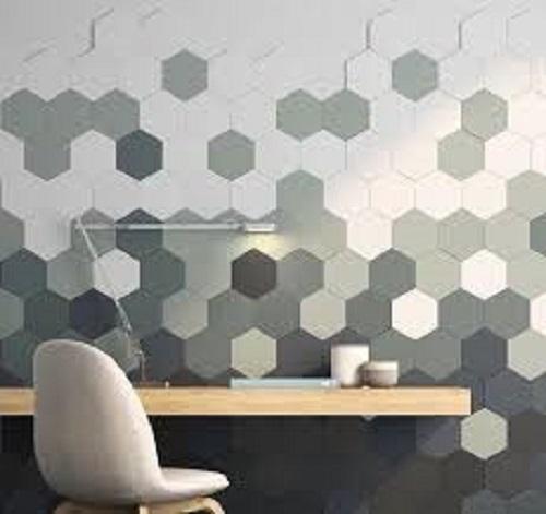 Gạch lục giác màu xám cho phòng bếp thu hút