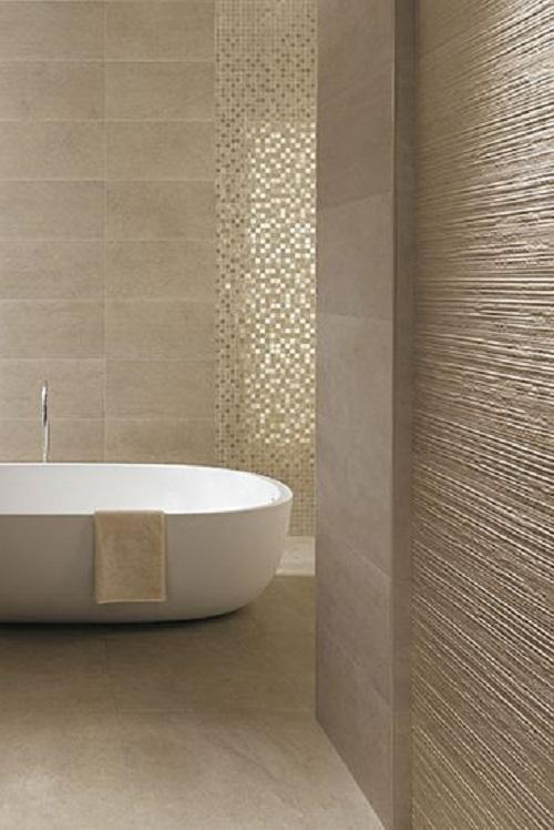Gạch mosaic thủy tinh màu vàng cho phòng vệ sinh sạch sẽ