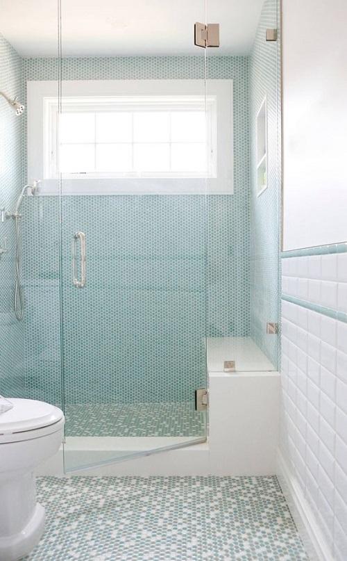 Gạch thẻ màu trắng cho phòng vệ sinh thêm vẻ tôn quý và sang trọng