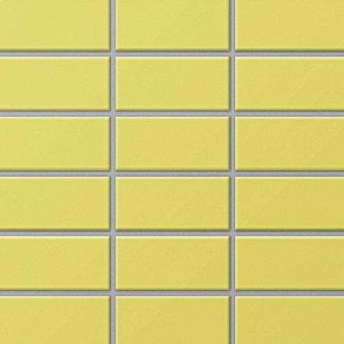 Gạch thẻ màu vàng cho phòng vệ sinh nổi trội