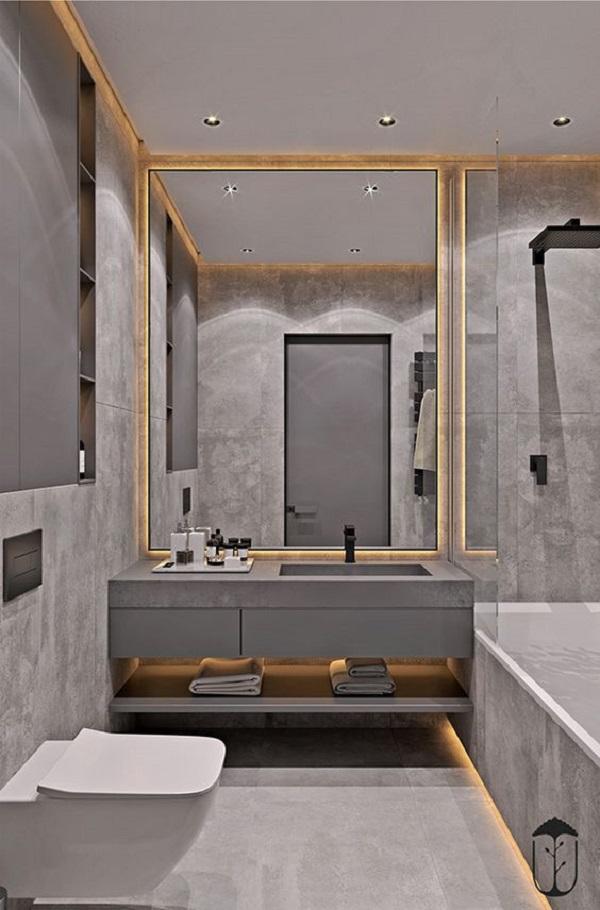 Mẫu gạch này cho phòng vệ sinh như một bức tranh